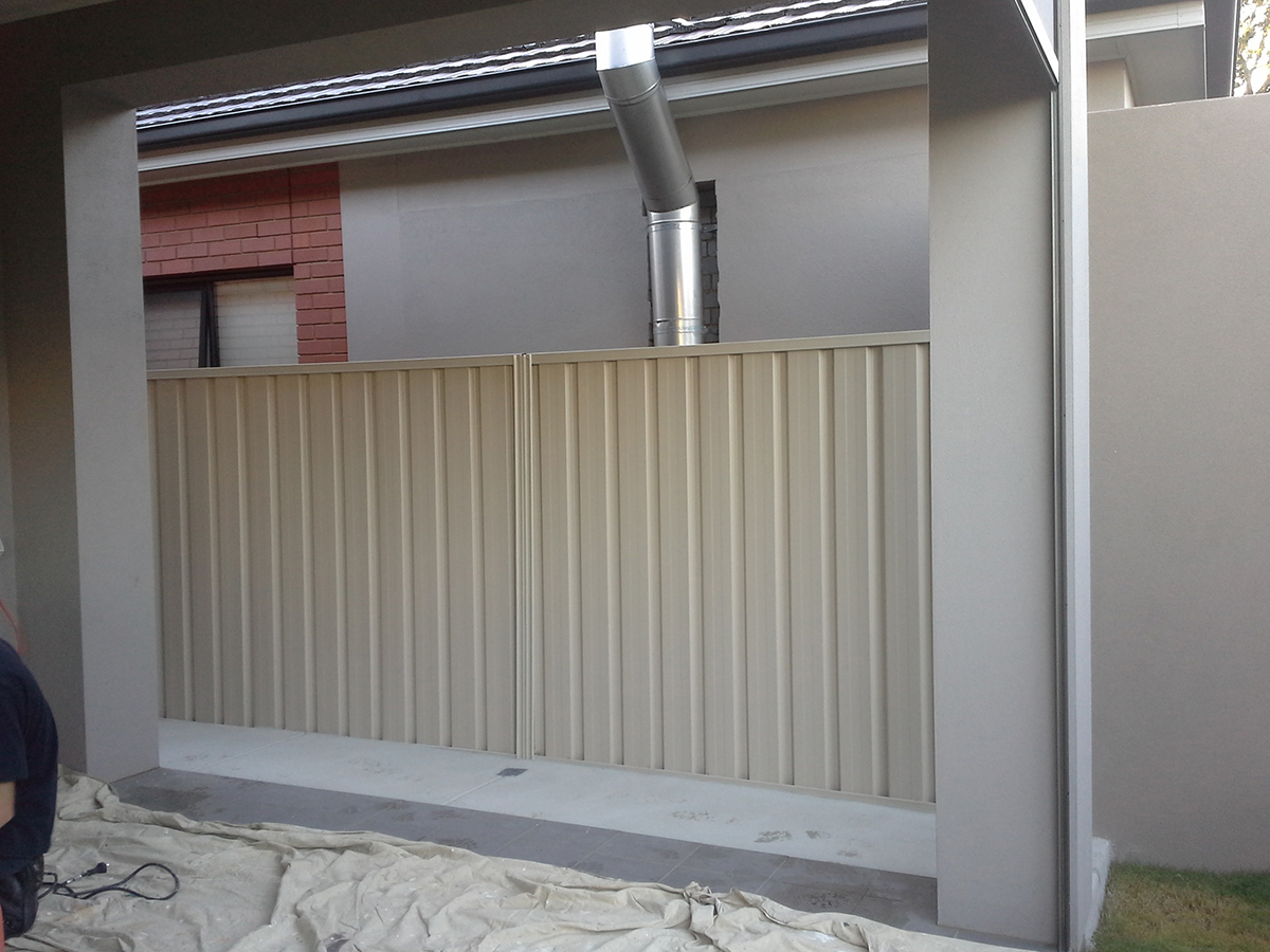 Home Maintenance Adelaide Car Port Wall Construction 01